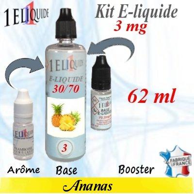 E-liquide-Ananas-3mg 30/70