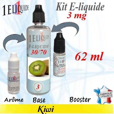 E-liquide-Kiwi-3mg 30/70