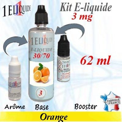 E-liquide-Orange-3mg 30/70