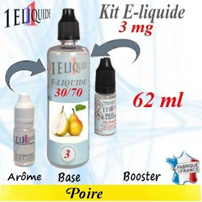 E-liquide-Poire-3mg 30/70