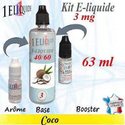 E-liquide-Coco-3mg 40/60