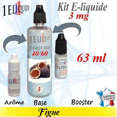 E-liquide-Figue-3mg 40/60
