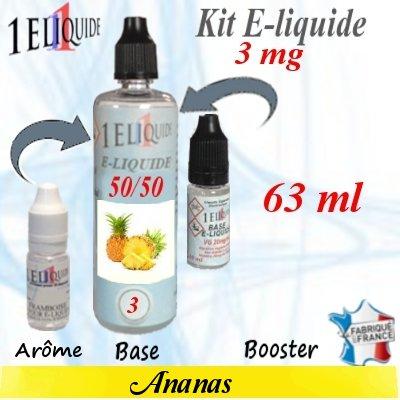 E-liquide-Ananas-3mg 50/50