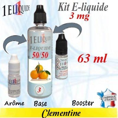 E-liquide-Clementine-3mg 50/50