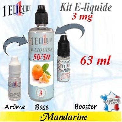 E-liquide-Mandarine-3mg 50/50