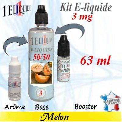 E-liquide-Melon-3mg 50/50