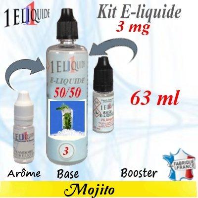 E-liquide-Mojito-3mg 50/50