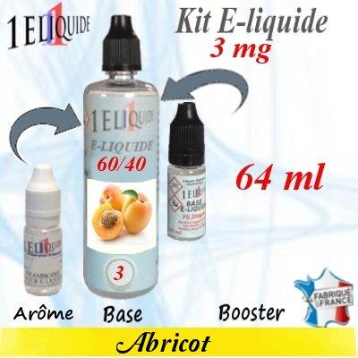 E-liquide-Abricot-3mg 60/40