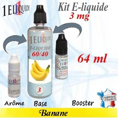 E-liquide-Banane-3mg 60/40