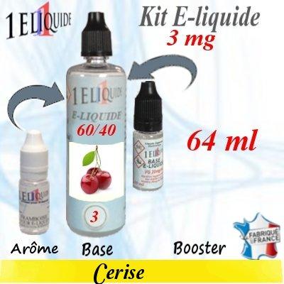 E-liquide-Cerise-3mg 60/40