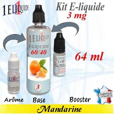 E-liquide-Mandarine-3mg 60/40
