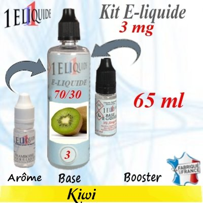 E-liquide-Kiwi-3mg 70/30