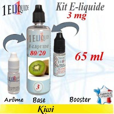 E-liquide-Kiwi-3mg 80/20