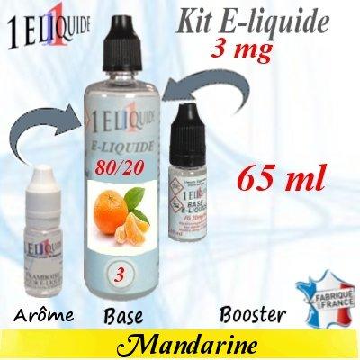 E-liquide-Mandarine-3mg 80/20