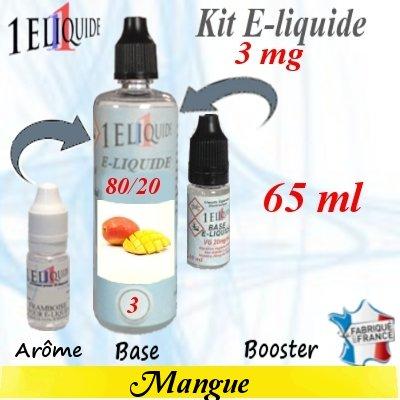 E-liquide-Mangue-3mg 80/20