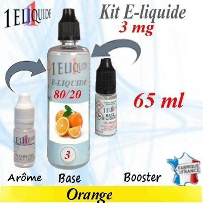 E-liquide-Orange-3mg 80/20