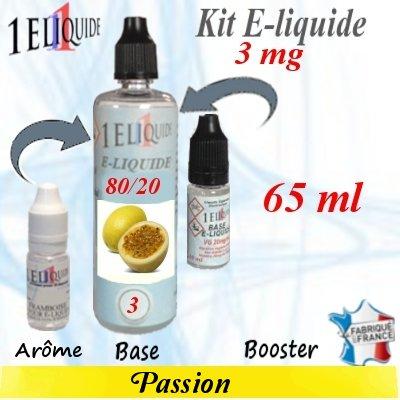 E-liquide-Passion-3mg 80/20