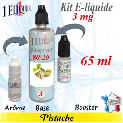 E-liquide-Pistache-3mg 80/20