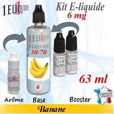 E-liquide-Banane-6mg 30/70