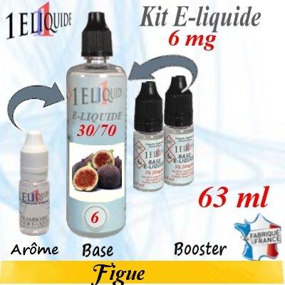 E-liquide-Figue-6mg 30/70