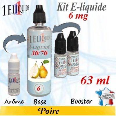 E-liquide-Poire-6mg 30/70