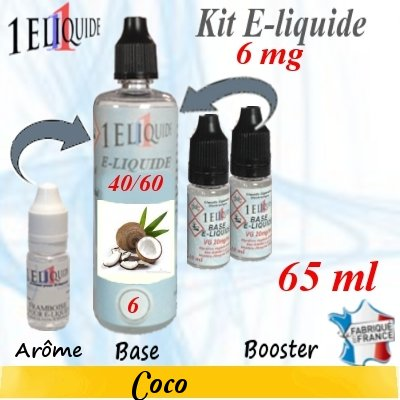 E-liquide-Coco-6mg 40/60