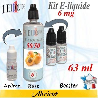 E-liquide-Abricot-6mg 50/50