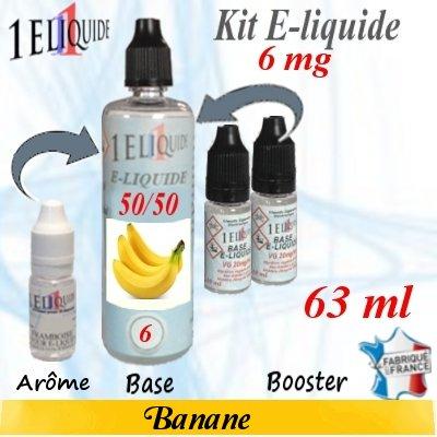 E-liquide-Banane-6mg 50/50