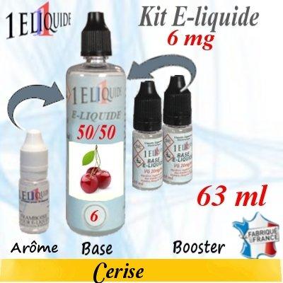 E-liquide-Cerise-6mg 50/50