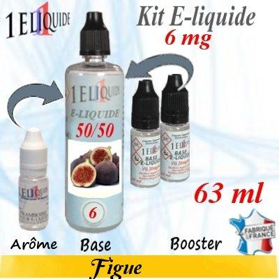 E-liquide-Figue-6mg 50/50