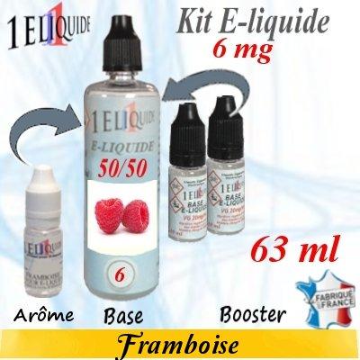 E-liquide-Framboise-6mg 50/50