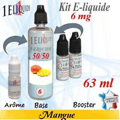 E-liquide-Mangue-6mg 50/50
