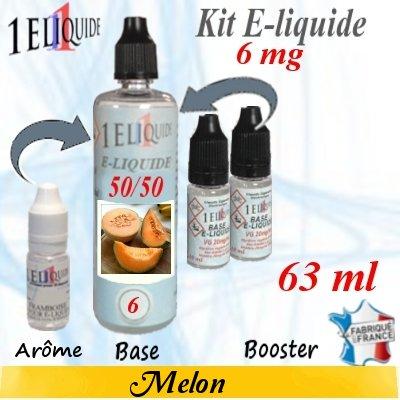 E-liquide-Melon-6mg 50/50