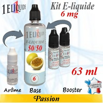 E-liquide-Passion-6mg 50/50