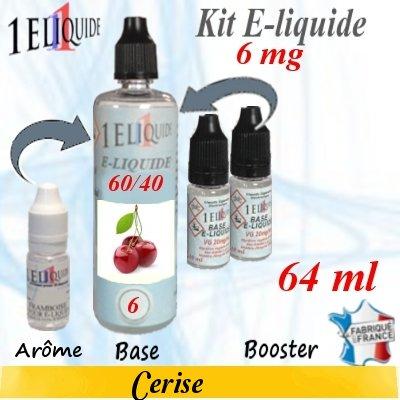 E-liquide-Cerise-6mg 60/40