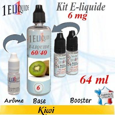 E-liquide-Kiwi-6mg 60/40