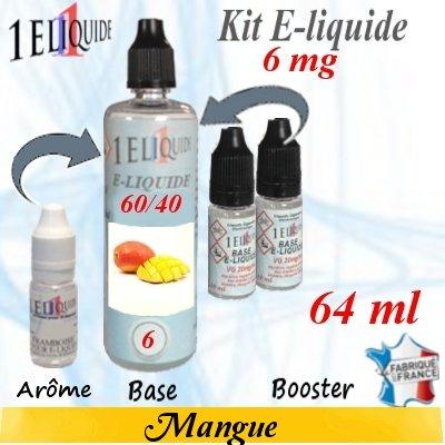 E-liquide-Mangue-6mg 60/40