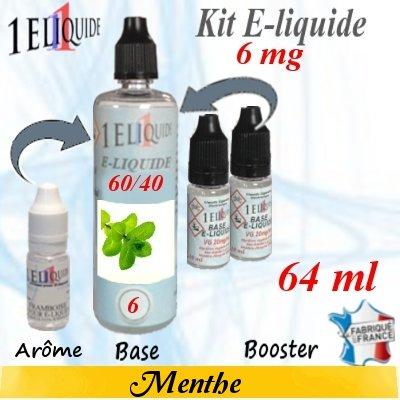 E-liquide-Menthe-6mg 60/40