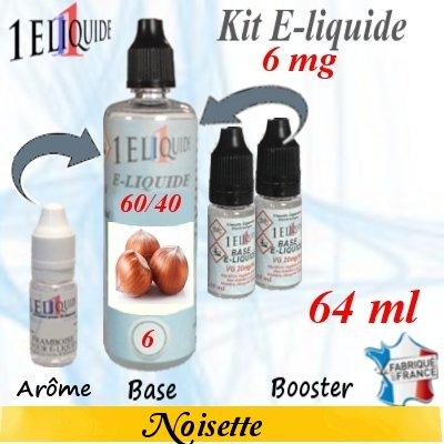 E-liquide-Noisette-6mg 60/40