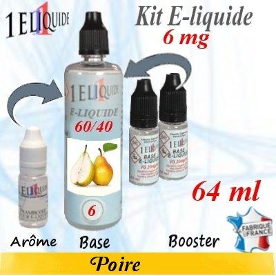E-liquide-Poire-6mg 60/40