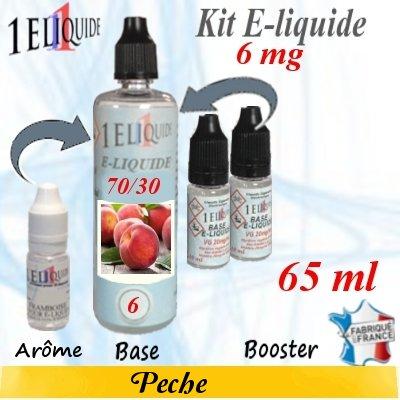 E-liquide-Pêche-6mg 70/30
