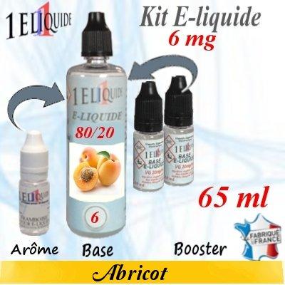 E-liquide-Abricot-6mg 80/20