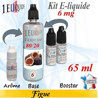 E-liquide-Figue-6mg 80/20