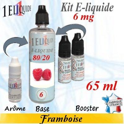 E-liquide-Framboise-6mg 80/20