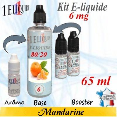 E-liquide-Mandarine-6mg 80/20