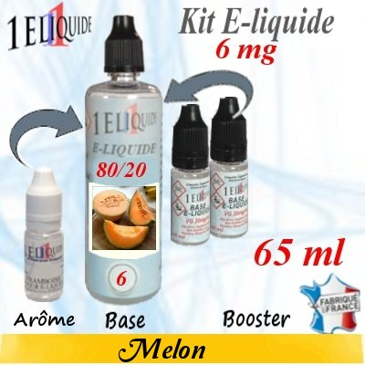 E-liquide-Melon-6mg 80/20