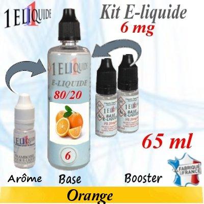 E-liquide-Orange-6mg 80/20