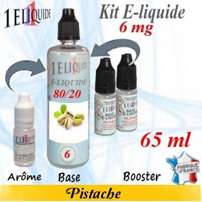 E-liquide-Pistache-6mg 80/20
