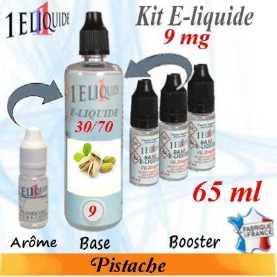 E-liquide-Pistache-9mg 30/70