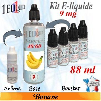 E-liquide-Banane-9mg 40/60